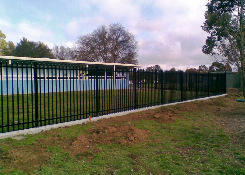 security fencing photo canberra