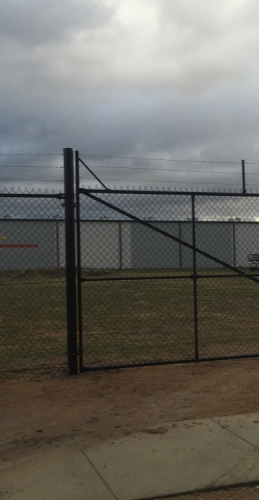 Canberra Chainwire Fencing Photograph